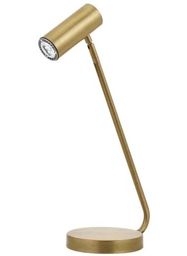 Avonni  ML-62019-01 Eskitme Kaplama Masa Lambası GU10 Metal 15x25cm Renkli